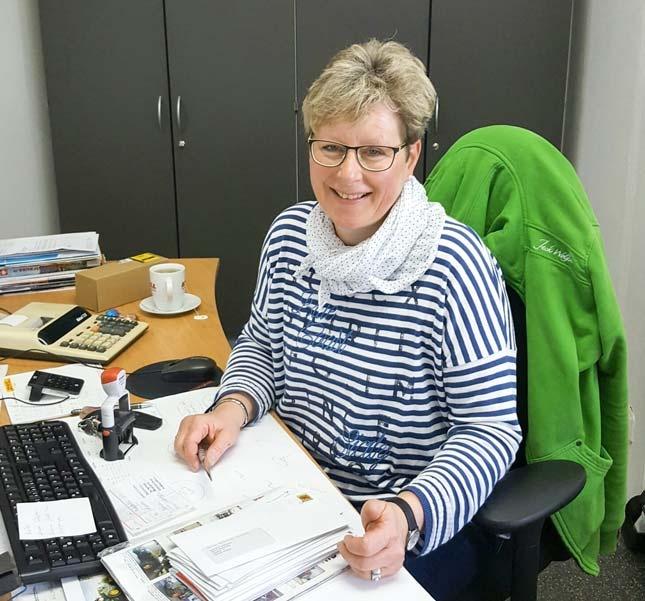 Astrid Kollmann, Buchhaltung / Verwaltung