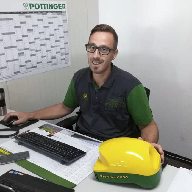 Stefan Schein, AMS-Spezialist   Verkaufsberater Landmaschinen